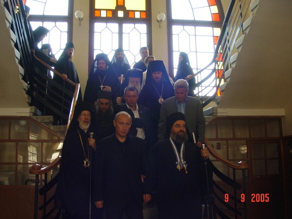 Монах Афанасий и Путин
