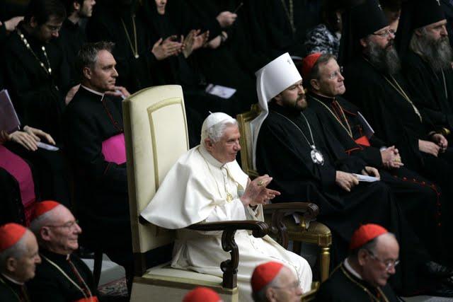 Презентация папе Римскому в Ватикане оратории