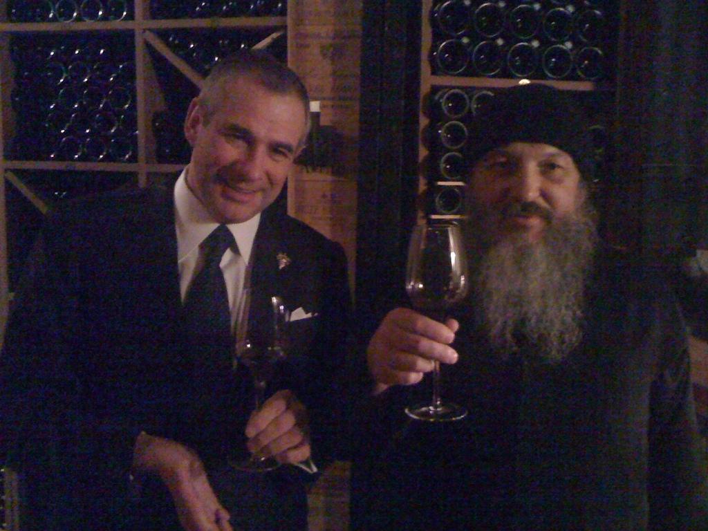 монах Афанасий и Эрик Боммар в George V