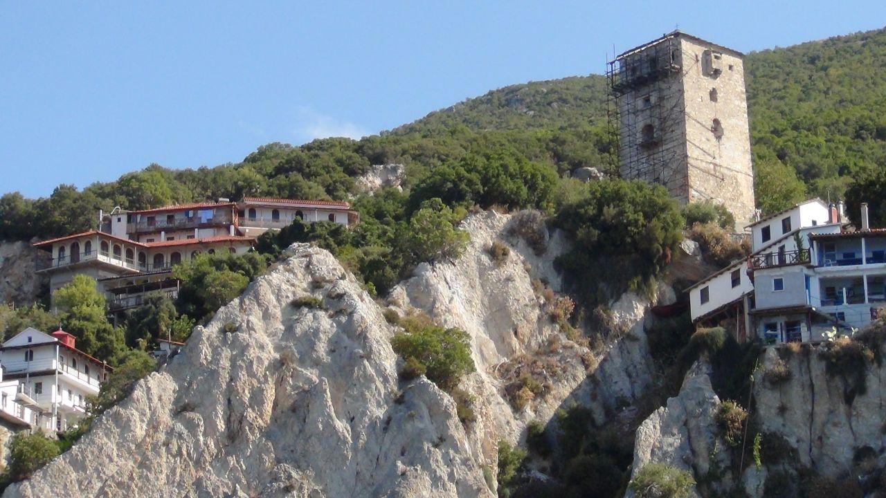 Башня Неа Скити. Святая гора Афон