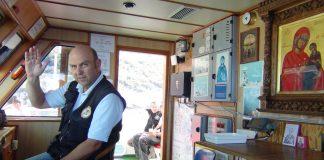 Капитан корабля Агиа Анна. Святая гора Афон