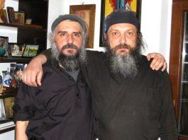 Монах Максим и монах Афанасий. Святая гора Афон.