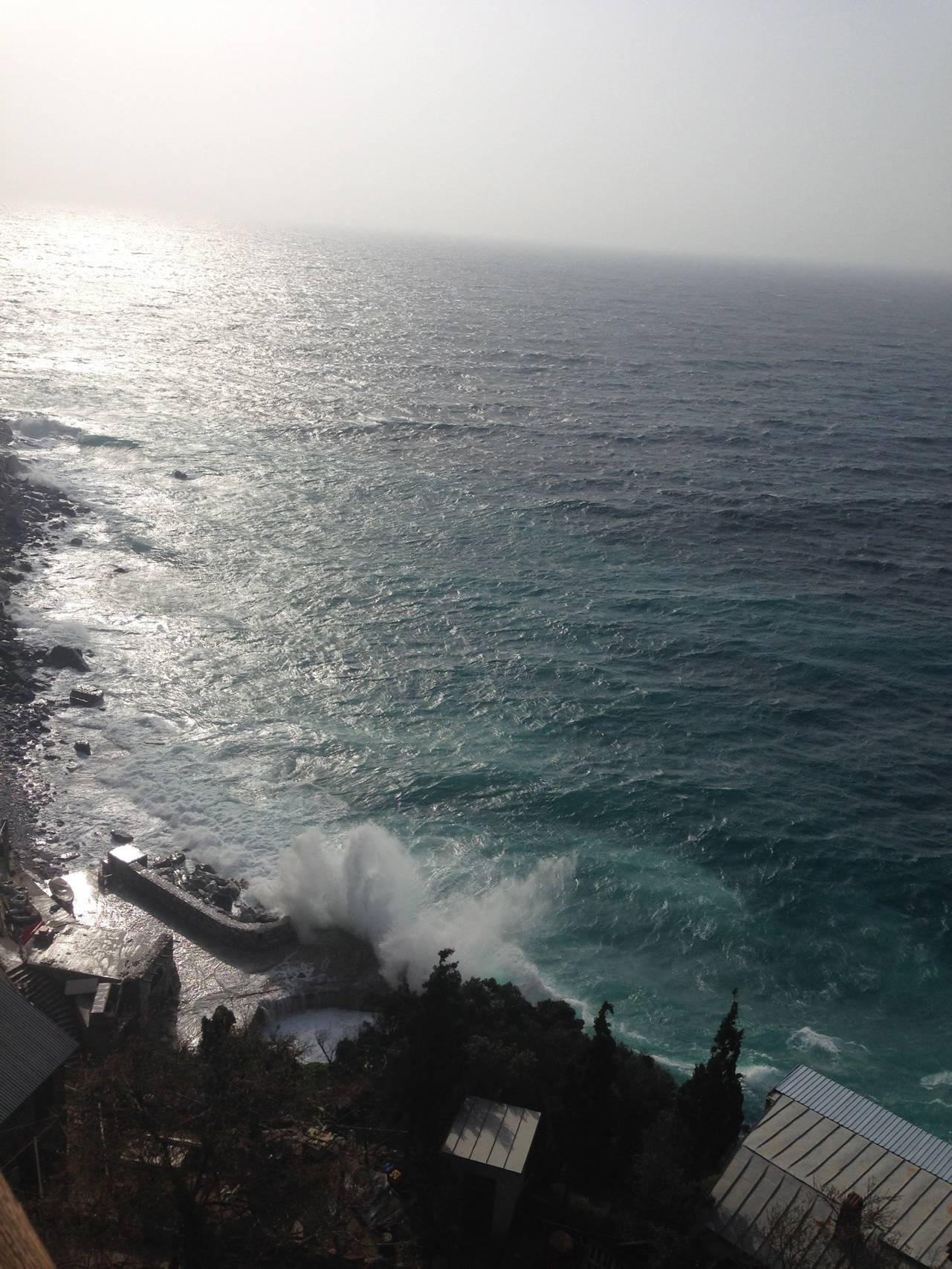 буря на Святой Горе