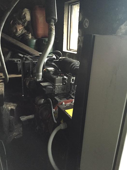 установка нового дизельного генератора на Св. Горе